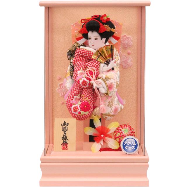 アクリルピンク9号 華流水刺繍 桜鹿の子