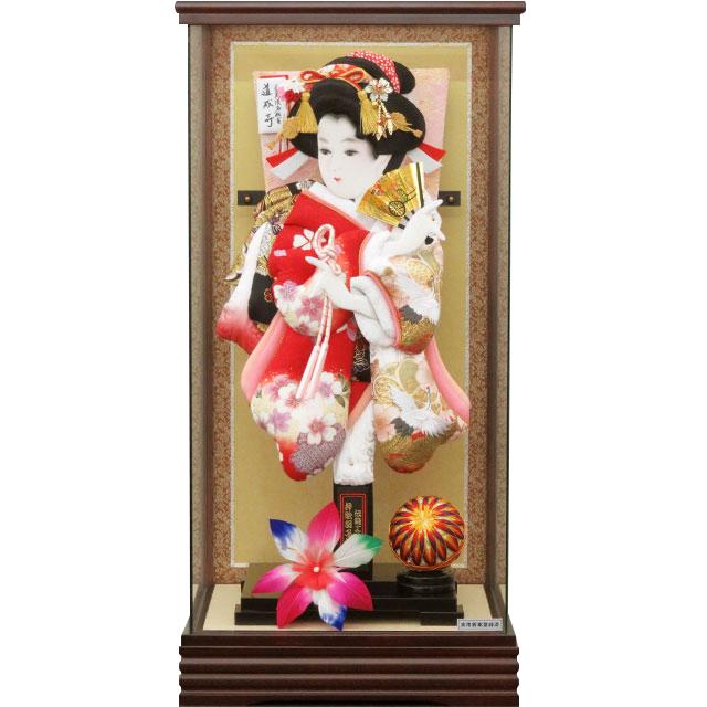 G16号 華流水刺繍 祝鶴