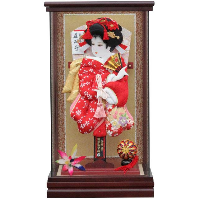 G10号 華流水刺繍 赤小桜 花刺繍