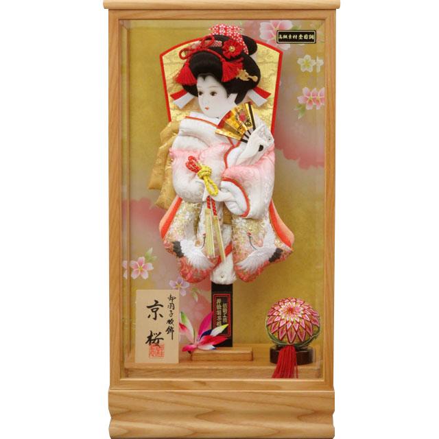 京桜13号 華流水刺繍 向鶴