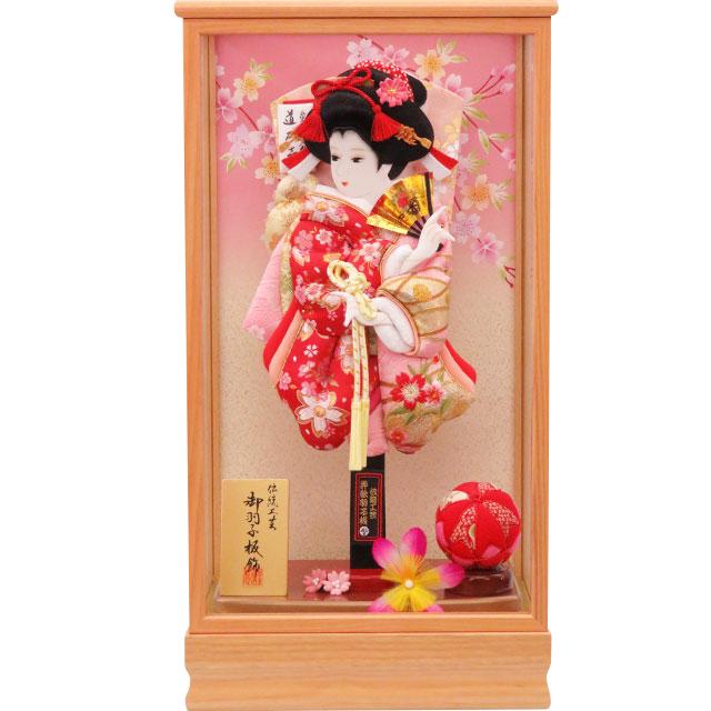舞歌13号 華流水刺繍 赤金襴ピンク刺繍
