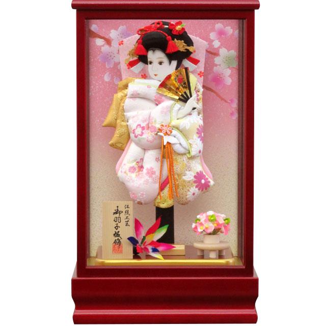 紅桜8号 華流水金彩 淡ピンク
