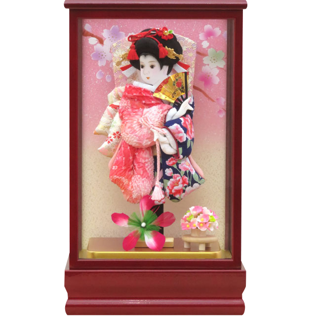 紅桜8号 華流水金彩 紺花ピンク