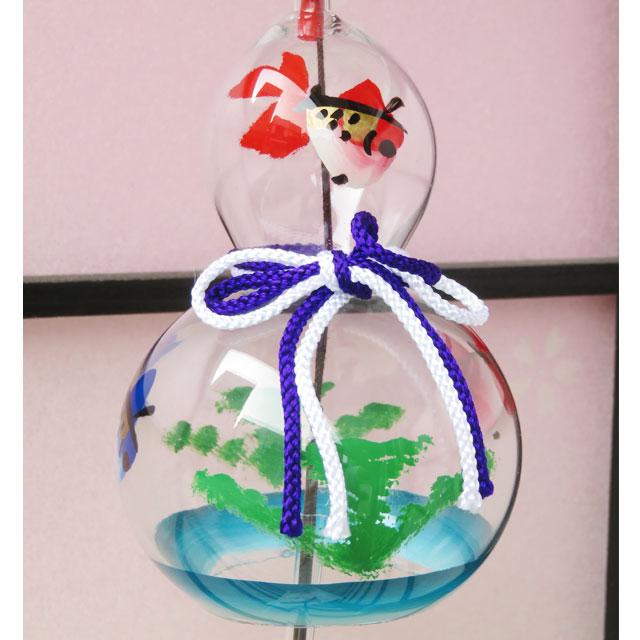 ひょうたん 風鈴 金魚