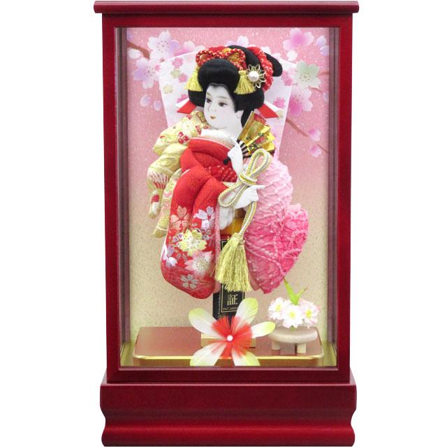 紅桜8号 刺繍振袖詩音 淡ピンク