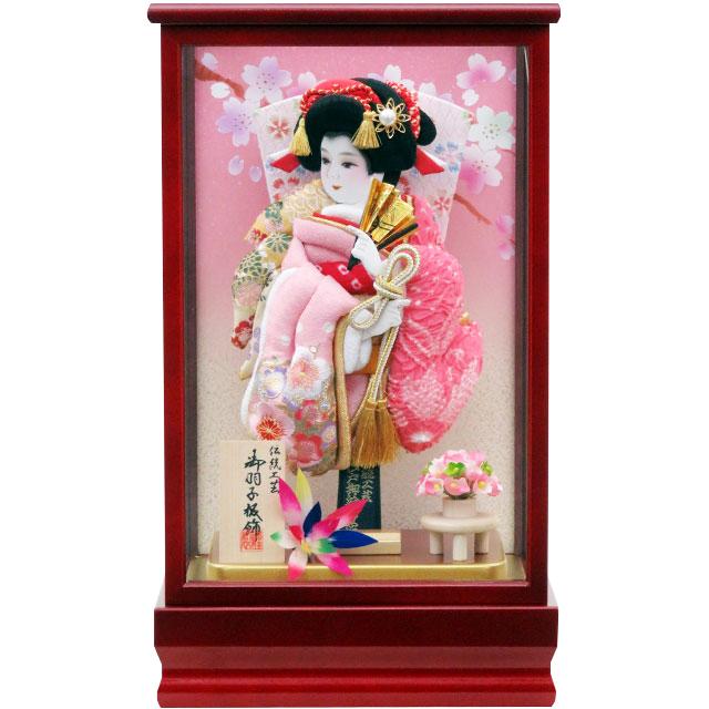 紅桜8号 刺繍鹿の子振袖 淡ピンク鹿の子