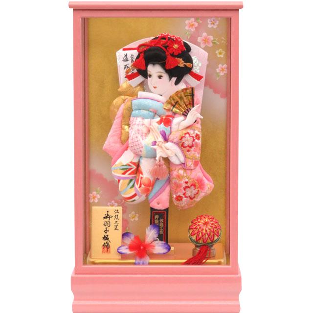 桃春10号 華流水刺繍 水色ピンク