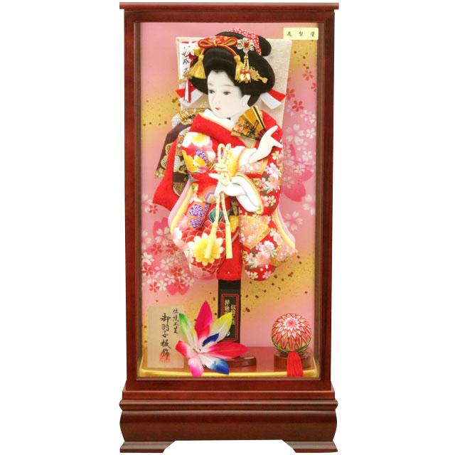夢桜15号 華流水刺繍 赤