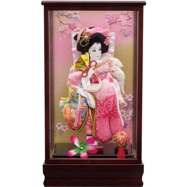 小春10号 正絹しぼりピンク