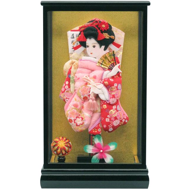 春苑10号 華流水刺繍 桜ピンク赤まり