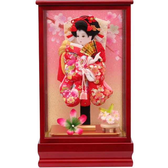 紅桜8号 華流水刺繍 赤桜