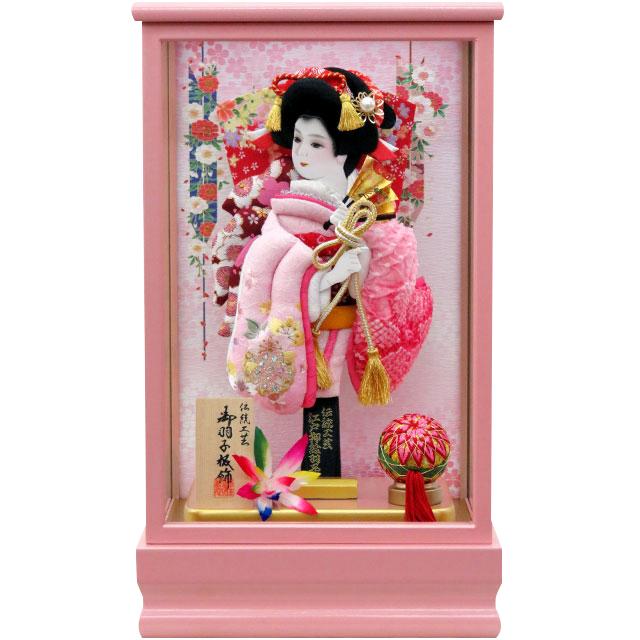 桃春8号 振袖詩音 ピンク有松 刺繍
