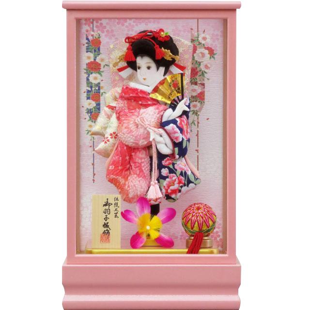 桃春8号 華流水金彩 紺ピンク