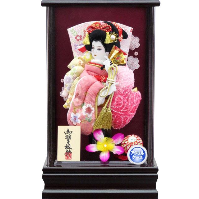 アクリル葡萄8号 振袖詩音 桜刺繍ピンク