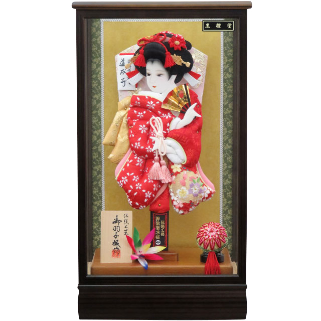 桜華10号 華流水刺繍 赤小桜 花刺繍