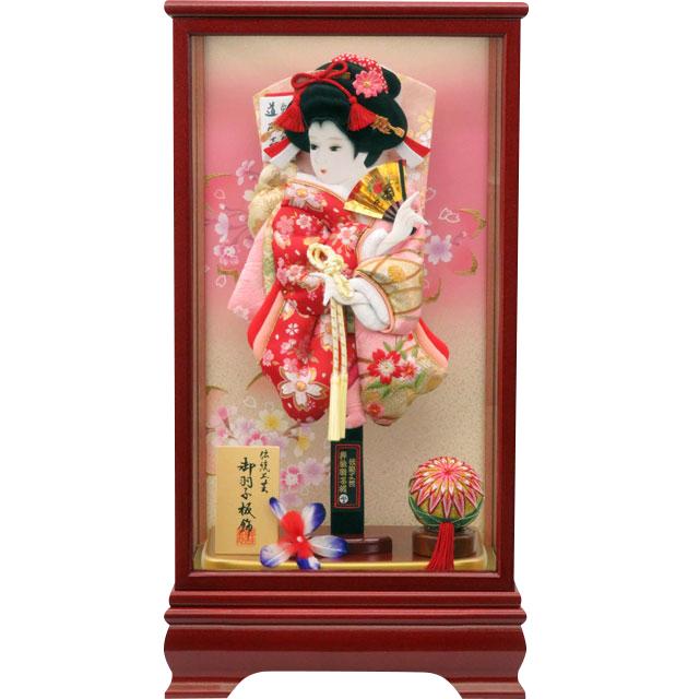優華13号 華流水刺繍 赤金襴ピンク刺繍