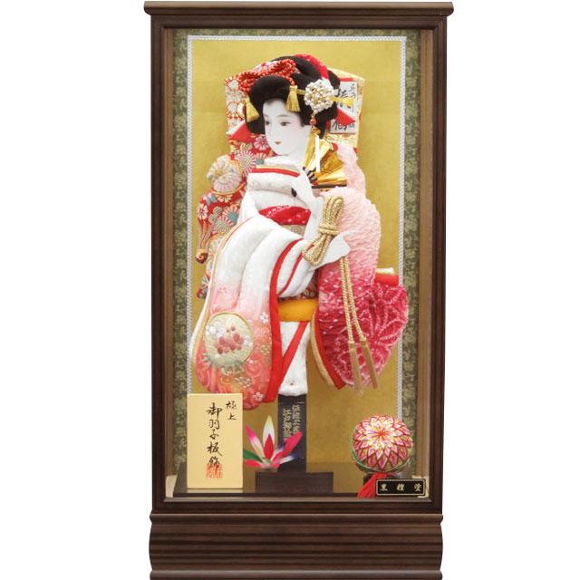 桜華13号 刺繍鹿の子振袖 濃ピンク