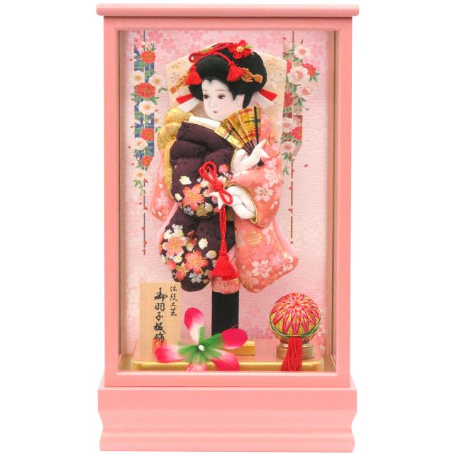 桃春8号 華流水刺繍 桜紫刺繍