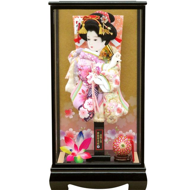 咲季15号 華流水刺繍 紫友禅