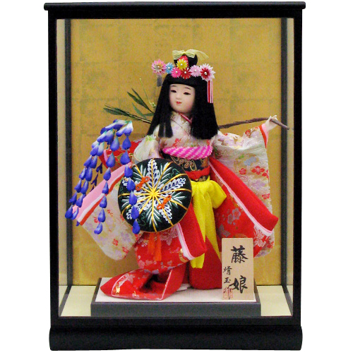 舞踊人形 8号 藤娘