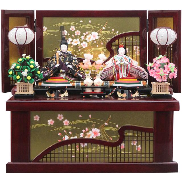 花にしも 京十三番親王 花格子収納飾