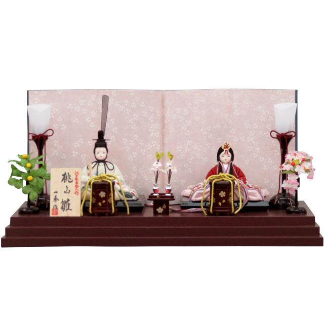 一秀 桃山雛 桜刺繍