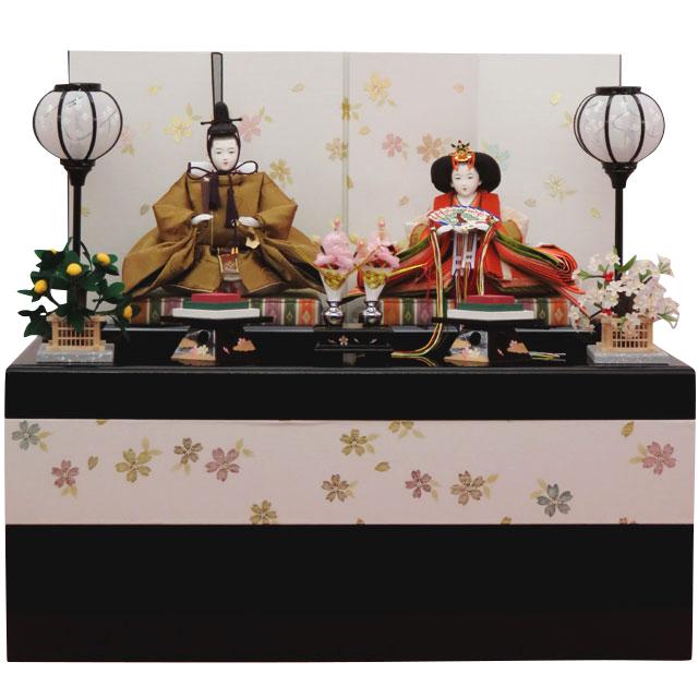 箔桜 収納飾 京十番親王
