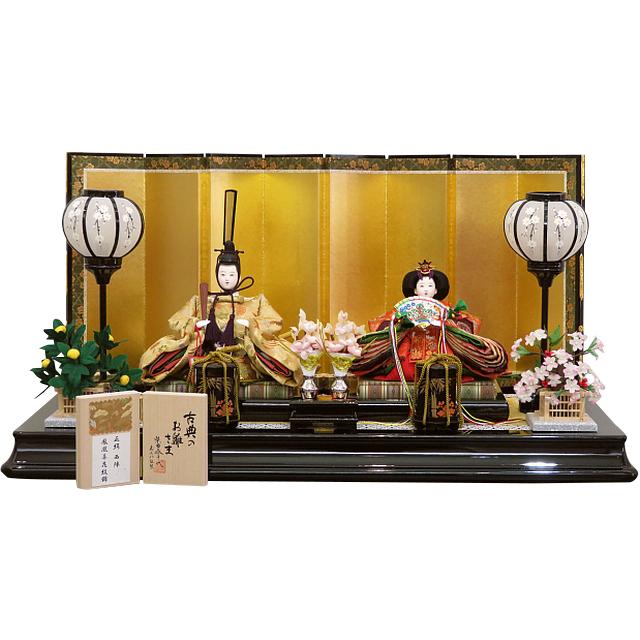 柴田家千代 古典のお雛さま 芥子親王飾