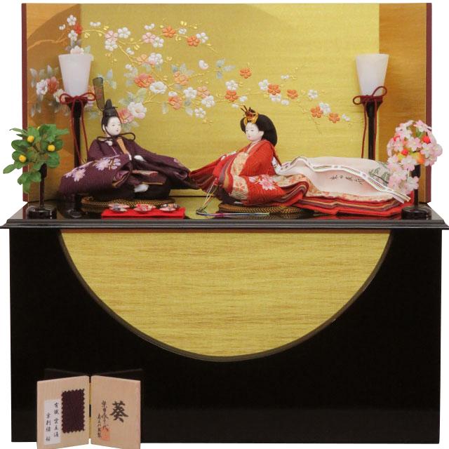 柴田家千代 葵 絹のしらべ収納飾