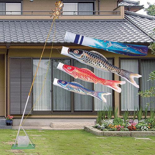 鯉のぼり 翔勇鯉 スタンドセット 1.2Mセット