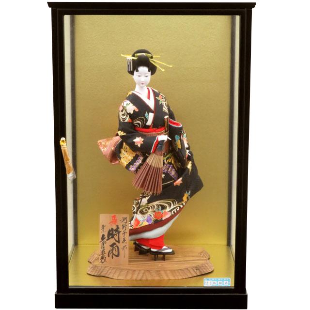 日本人形 正絹時雨 10号