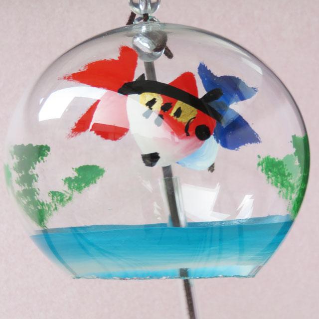 小丸 風鈴 金魚